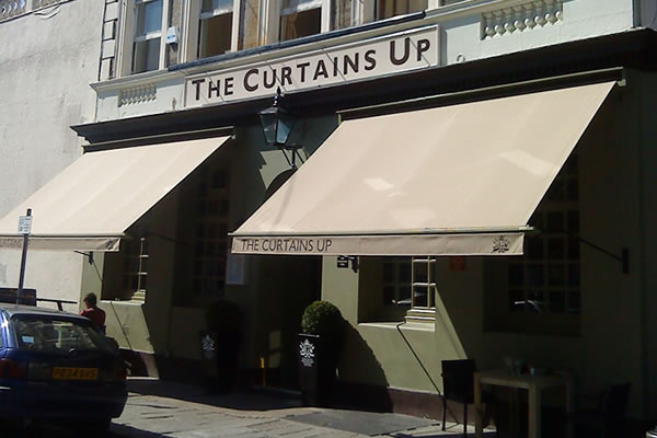 awning for Moussaieff Curtains Up victorian awning. & Traditional Awnings for conservation areas - custom made for your ...